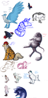 pokedoodles by Silvadruid