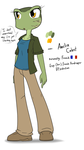 My New character: Amelia Calvet by Sandwich-Anomaly
