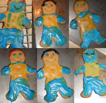 X-Men Gingerbread by rosynic87