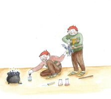 George and Fred Weasley by Hellofriend