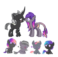 Caster x Star Swift Breedable Adopts (CLOSED) by iVui