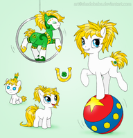 My Little Pony OC - Fortune Flair by ShadOBabe