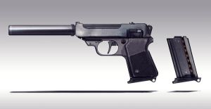 Small gun Concept ii by torvenius