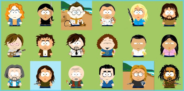 Lost: Chibi Southpark style... by Expressified