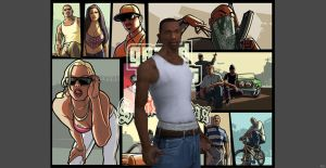 GTA SA - Carl Johnson by o0Cristian0o