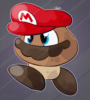 It's-a Goomba! - Day 1445 by Seracfrost