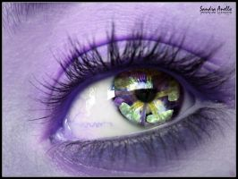 passion fruit flower eye by xXSidewinderXx