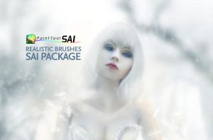 Realistic Brushes Paint Tool SAI Pack by arty-monster