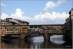 Florence no. 1 - Ponte Vecchio by Anakuklosis
