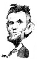 A.Lincoln caricature by efdemon