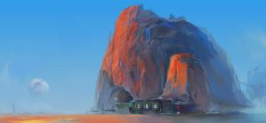 Desert Base by alantsuei