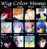 Wig Color Meme by kai-cross
