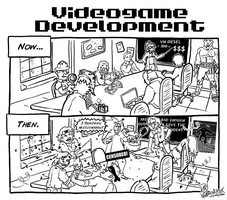 Videogame Development - Now and Then by DavyWagnarok