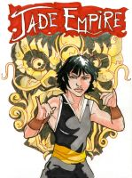 Jade Empire Cover Art by crisurdiales