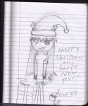 merry christmas and new year by meow12373