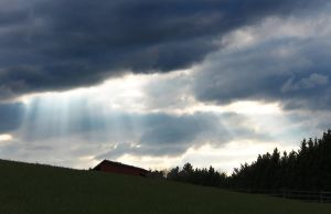Light through Stormclouds by catnamedpuppy