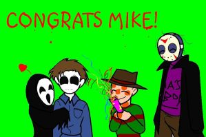 CONGRATS MIKE MYERS by Ynnep