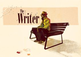 The writer by chuma