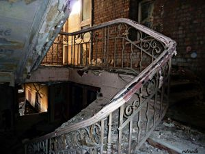 The Derelict staircase 1 by Estruda