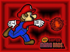 Mario coloring by dylrocks95