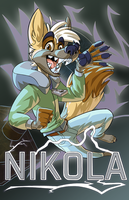 Nikola Badge by CoyoteEsquire
