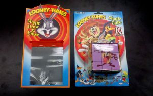Looney Tunes packaging Magic Cube Magic Draw Erase by FrozenPinky