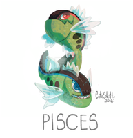 Pokemon Zodiac - Pisces by CuteSkitty