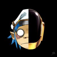 Daft Punk and Gorillaz - Cover Mash-up by jorenbassant