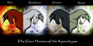 The Four Horses - Apocalypse by itildine