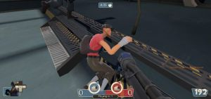 TF2: The Sleeping RED Scout by FlygonPirate