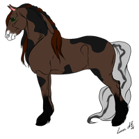 Horse Contest Entry by jesspotter