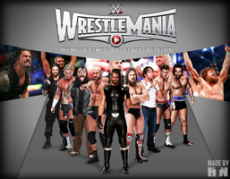 WWE WrestleMania 31 Wallpaper by HTN4ever
