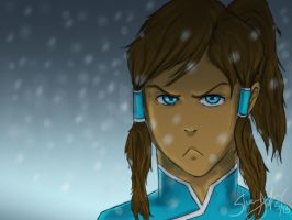 Korra Ready For Action by shelbicg