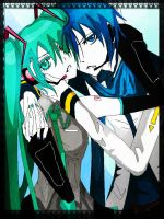 MikuandKaito2edit by kittyscz