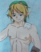 Shirtless Link by animedemon77