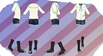MMD Outfit 80 by MMD3DCGParts