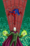 Spider-man and Mysterio by SKumpf