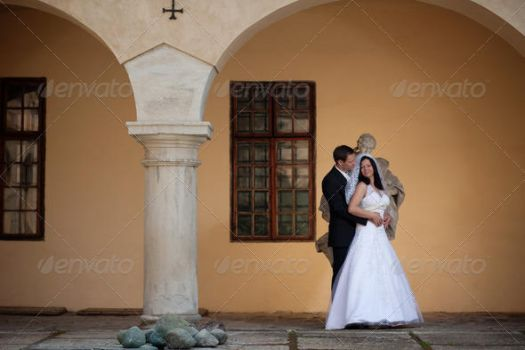 Lovely Couple at the Ancient Manor by Ondrejvasak