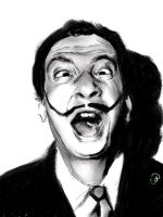 Salvador Dali by JustCin