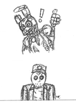 Springtrap and Jason by pokecat