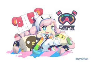 Rana the new vocaloid by Charln