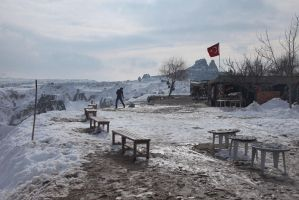Cappadocia under the snow - XIX : Cleaning by Suppi-lu-liuma