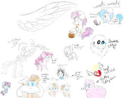 Le Doodles by Andreathehedgehog0