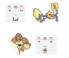 PokeFusions set1 by Noland005