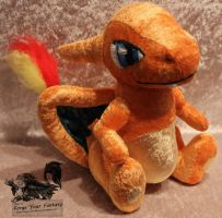 Charizard Plush - Pokemon by Forge-Your-Fantasy