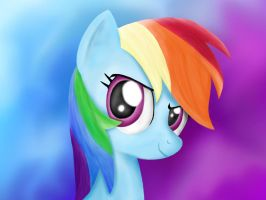RainbowDash by Bronytoss
