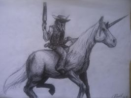 Cowboy from Hell by LusitanianDavid