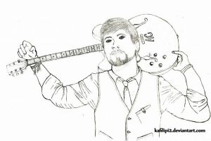 David Cook - Uncolored by kafilipi2