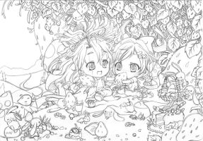 Strawberry Fields WIP by phillydelphy