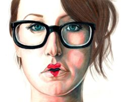 Ingrid Michaelson by Marissa-Emily